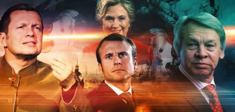 Пушков и Соловьёв высмеяли антироссийскую стратегию Макрона