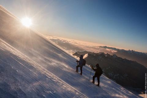 Восхождение на гору Эльбрус