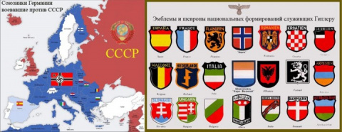 Сколько стран участвовало В нападении на СССР в 1941 году