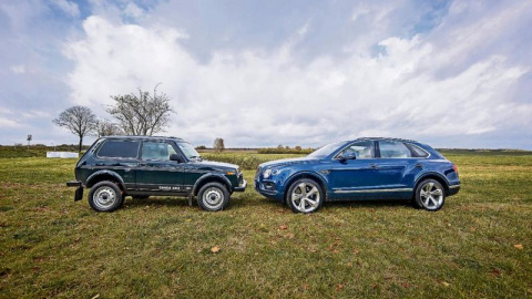Немцы «сравнили» Ладу 4x4 с Bentley Bentayga. Вывод неожиданный!