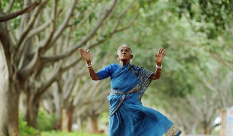 105-летняя женщина, у которо…