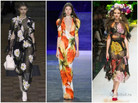 Модные принты 2017 в одежде