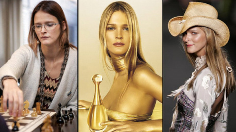 Девушка с обложки: модель из рекламы Dior оказалась президентом Шахматного союза Эстонии