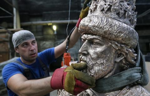 Первый в России памятник Ива…
