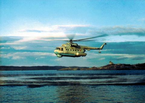 В России восстановят вертолеты-амфибии