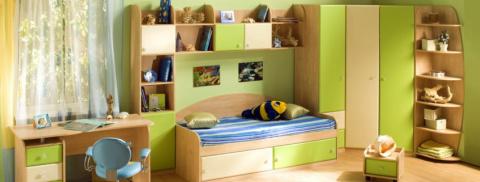Идеи для оформления детской комнаты
