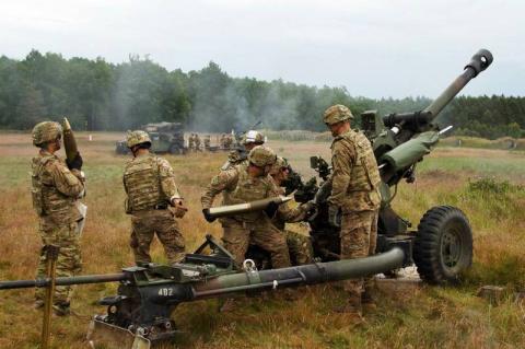 Зеленый свет для легкой артиллерии