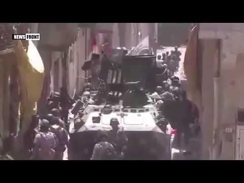 Операция по освобождению Мосула в окрестностях Старого города