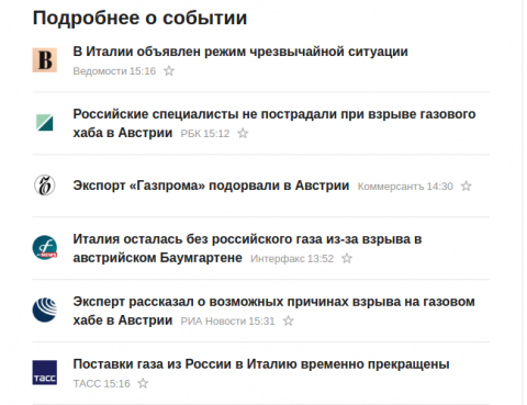 Представлена Демо-версия отключения от российского газа...