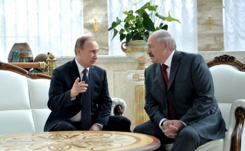 Владимир Путин 3 апреля встретится с Александром Лукашенко