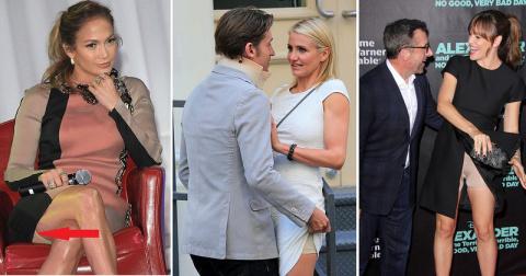 Заглянем под юбки знаменитостей. Они и правда носят это!