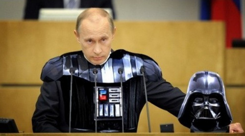 Темная империя Дарта Путина.…