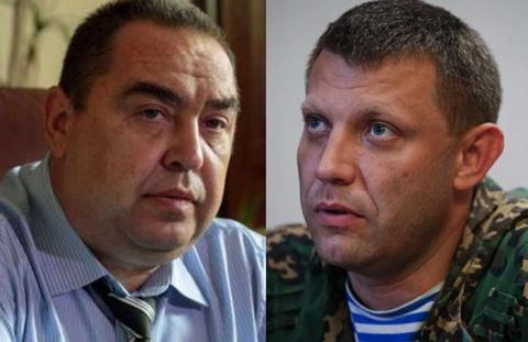 Главы ДНР и ЛНР прибыли вКр…