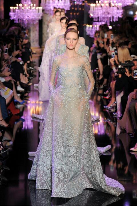 Мода от ELIE SAAB COUTURE осень-зима 2014-2015