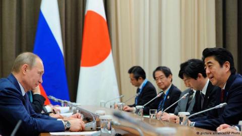 Визит Абэ в Москву: Япония м…