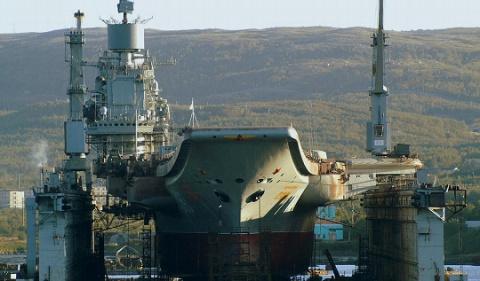Источник: «Адмирал Кузнецов» входе ремонта будет серьезно модернизирован