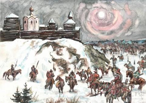 Переход к Малому ледниковому периоду и Монгольское нашествие на Русь.