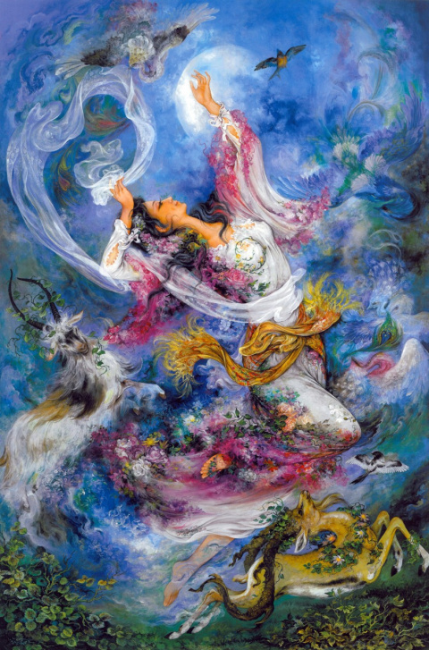 Махмуд Фаршчиян— современный иранский художник