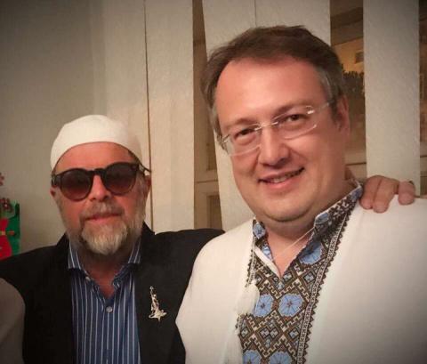 Борис Гребенщиков побратался на Украине с русофобом А. Геращенко