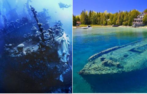 10 затонувших кораблей, став…