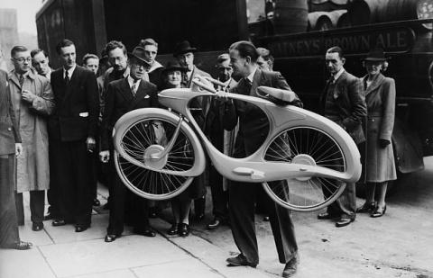 Так выглядел «велосипед буду…