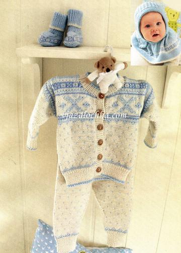 Вязание для малышей. Модель № 2