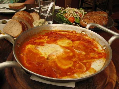 А ЧТО НА ЗАВТРАК? Шакшука - любимое блюдо Ближнего Востока
