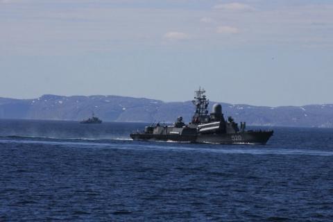 """На Северном флоте спасли """"ав…"""