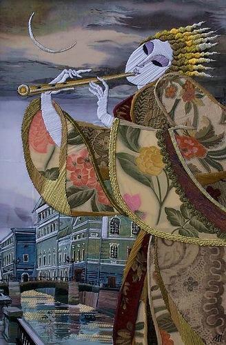 Уникальная тканая живопись Марины Принцевой