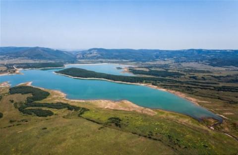 Запаса крымских водохранилищ…