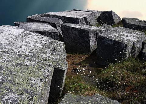 Забытая реальность — грандиозные мегалиты горы Воттоваара