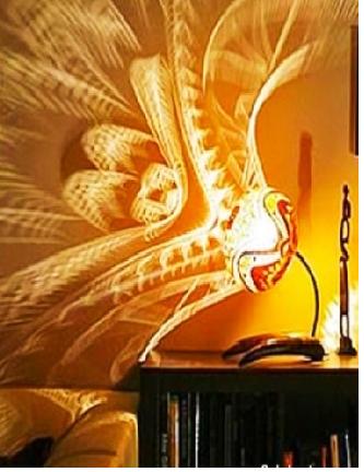 Стоит включить эту лампу, и обычный дом превратится в сказочный дворец. Хочу такую срочно!