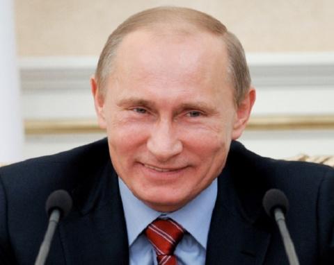 Путин пошутил про женщин в клубах и предложил Медведеву воспитать Мединского