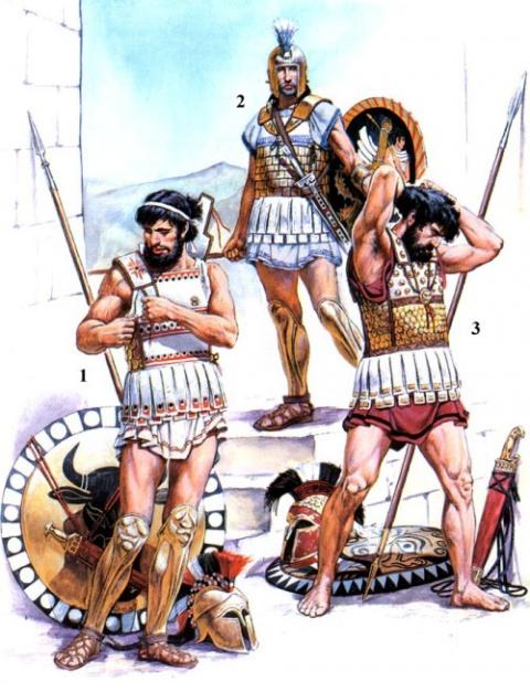 Армии Древней Греции