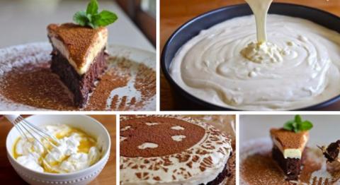 Трюфельный торт с муссом из …
