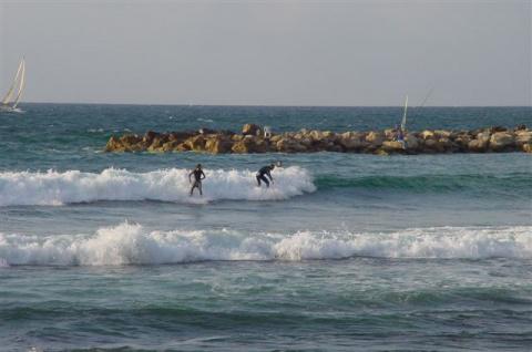 Средиземное море, Тель Авив
