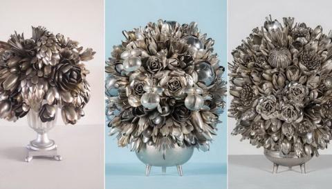 Цветы из вилок: фантастическ…