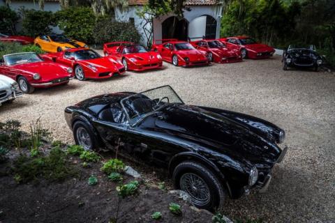 Потрясающая коллекция суперкаров Дэвида Ли