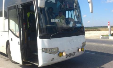 В Крыму водитель автобуса по…