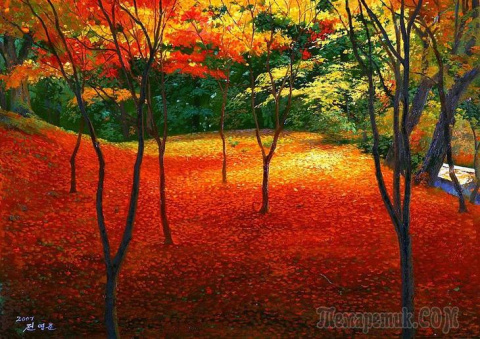 Корейская живопись. Чон Ён Д…