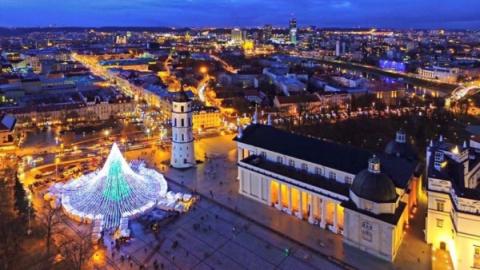 В центре Вильнюса поставили …