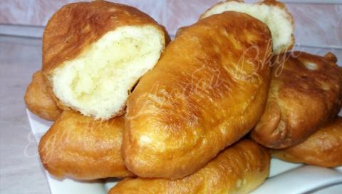Жареные пирожки с картошкой.…