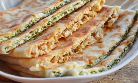 Гезлеме — турецкие лепешки. Очень вкусно!