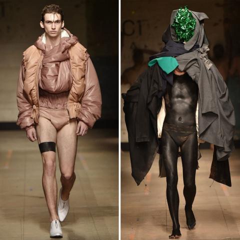16 незабываемых образов на Неделе мужской моды, которые хочется развидеть
