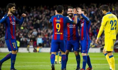 Барселона дома не оставила ш…
