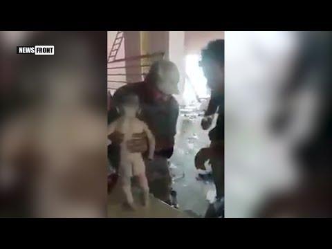 Душераздирающие кадры: иракские военные нашли ребенка под обломками здания