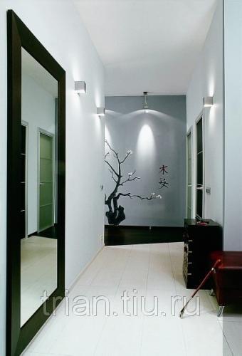 Дизайн узкого коридора!