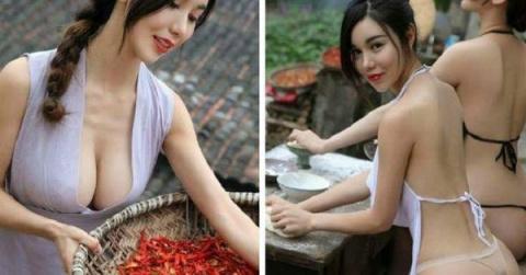 Вот как выглядят китайские деревенские девушки