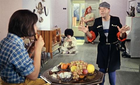 """Фильму """"Кавказская пленница, или новые приключения Шурика"""" 50 лет"""
