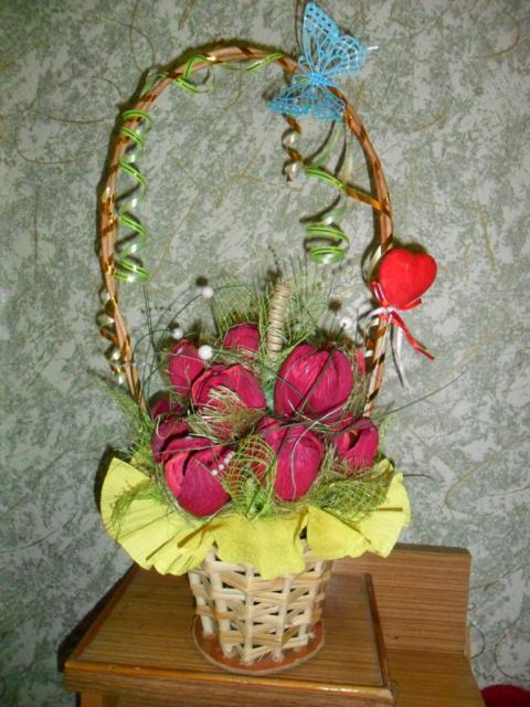 Сладкие тюльпаны.